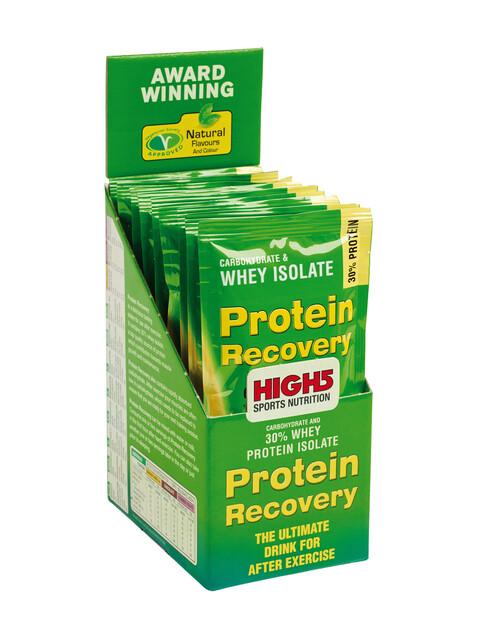 High5 Protein Recovery Drink Box 9x60g, Banana-Vanilla